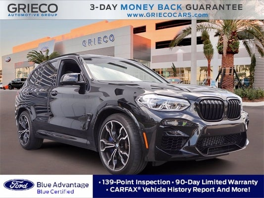 2020 Bmw X3 M Competition In Delray Beach Fl Delray Beach Bmw X3 Grieco Ford Of Delray Beach